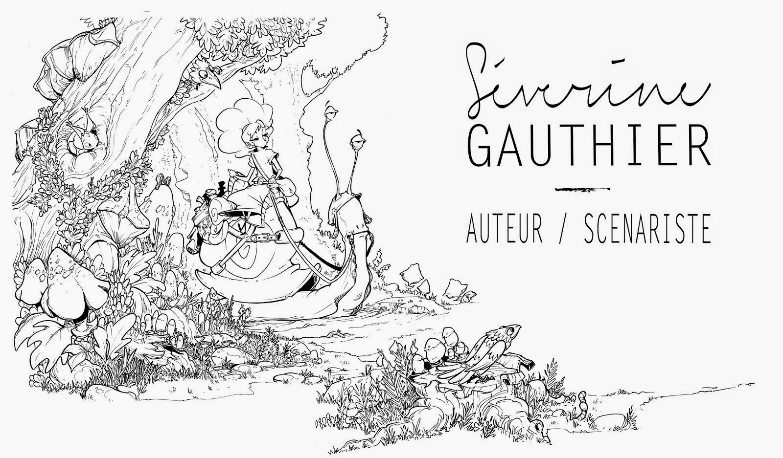 Séverine Gauthier / Auteur Scénariste