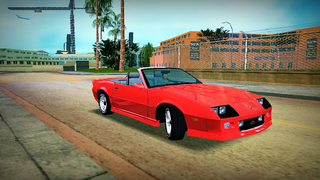 Chevrolet Camaro Convertible 1986 GTA Vice City