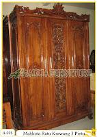 Lemari Pakaian Ukiran Ratu Krawangan