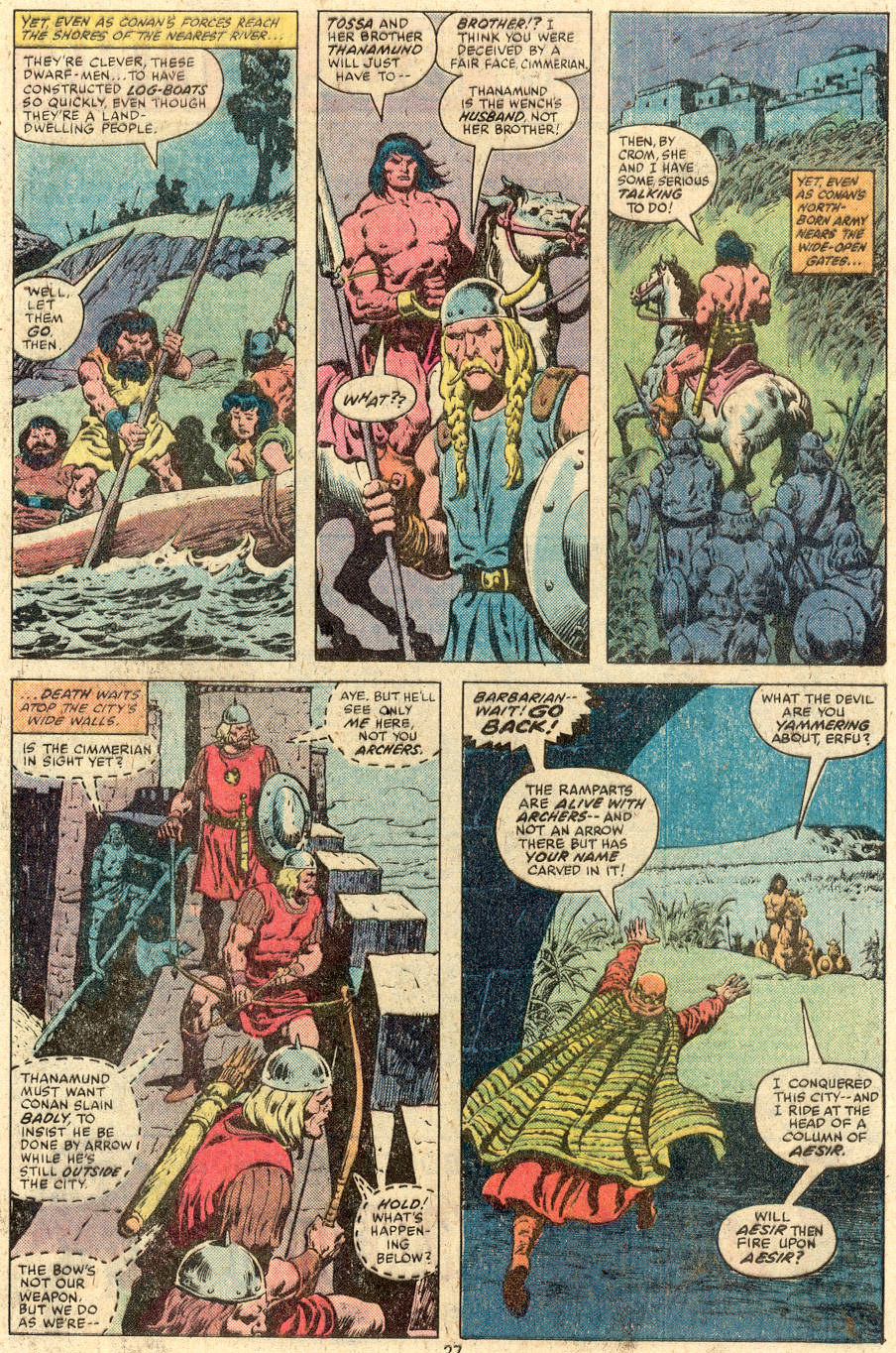 Conan the Barbarian (1970) Issue #112 #124 - English 16