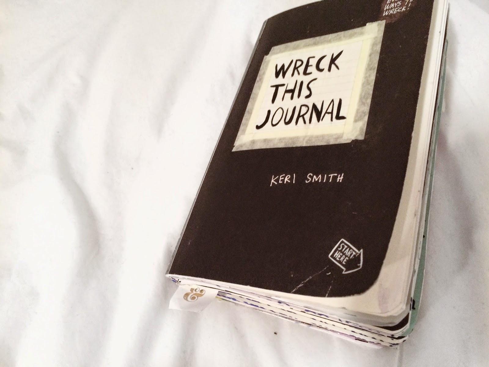 Wreck This Journal: The Good, The Bad, & The Wrecked.