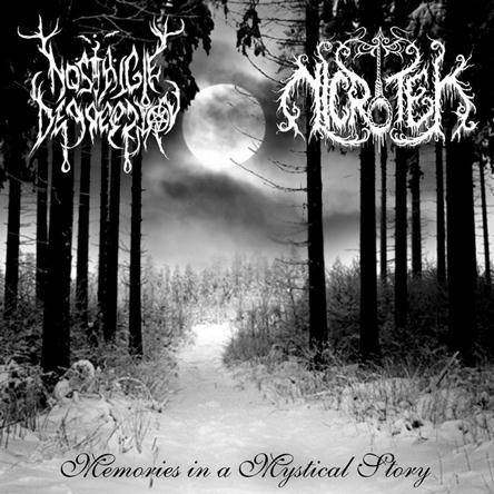 Memories in a Mystical Story, Nicrotek One Man Black Metal Band from Surabaya Indonesia, Indonesian One Man Black Metal