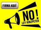 NO LEY HINZPETER - FIRME AQUI