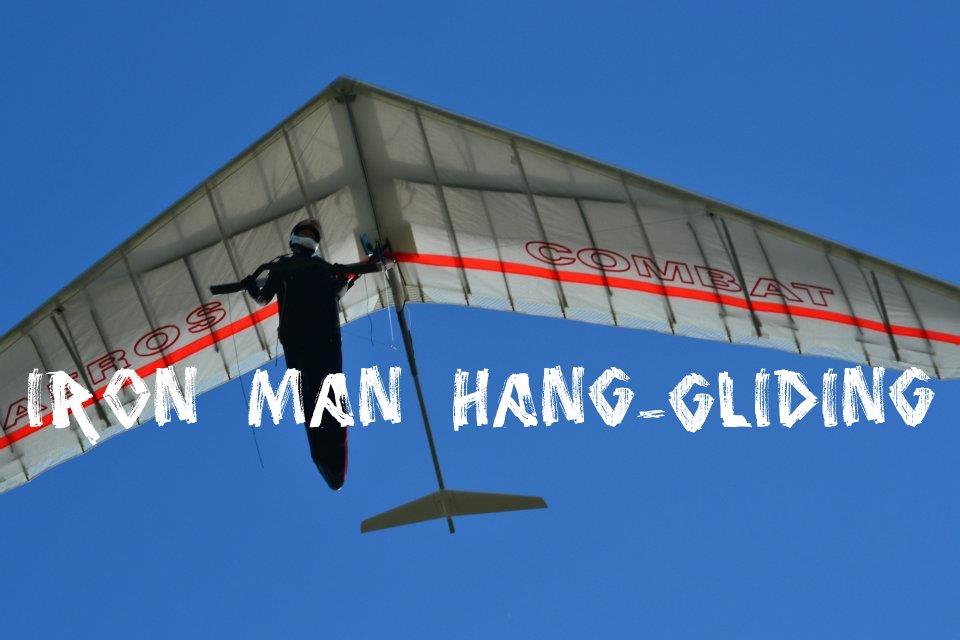 IRON MAN HANG-GLIDING