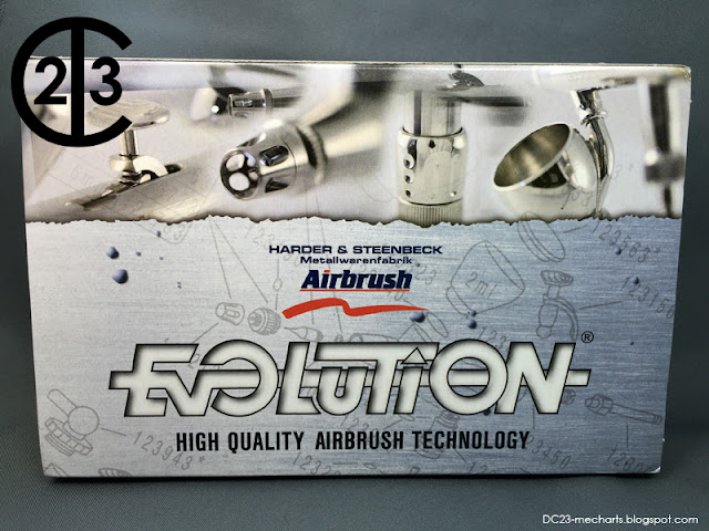 Harder&Steenbeck Evolution Silverline 2in1 Airbrushphoto