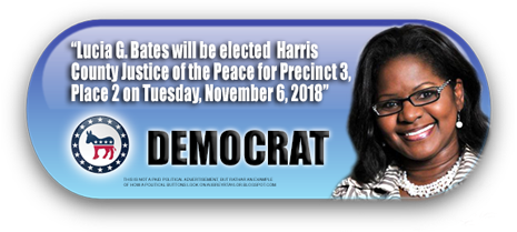 LUCIA G. BATES WILL NOT HAVE AN OPPONENT ON NOVEMBER 6, 2018