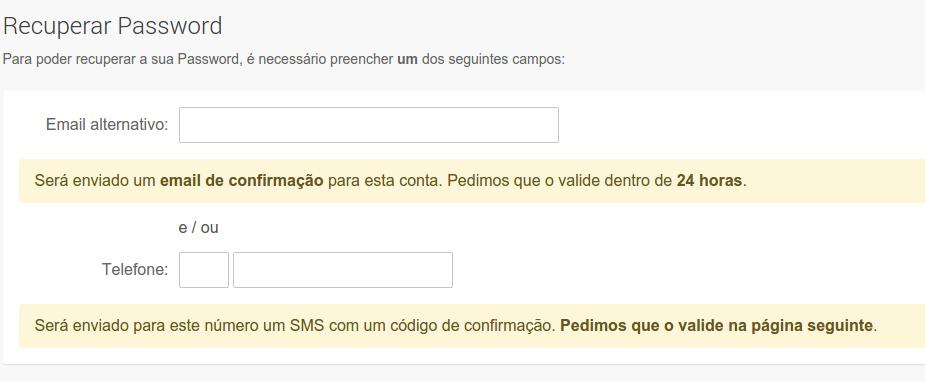 Como registrar um email SAPO grátis