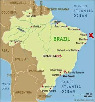 Brezilya'daki Fernando de Noronha Adası
