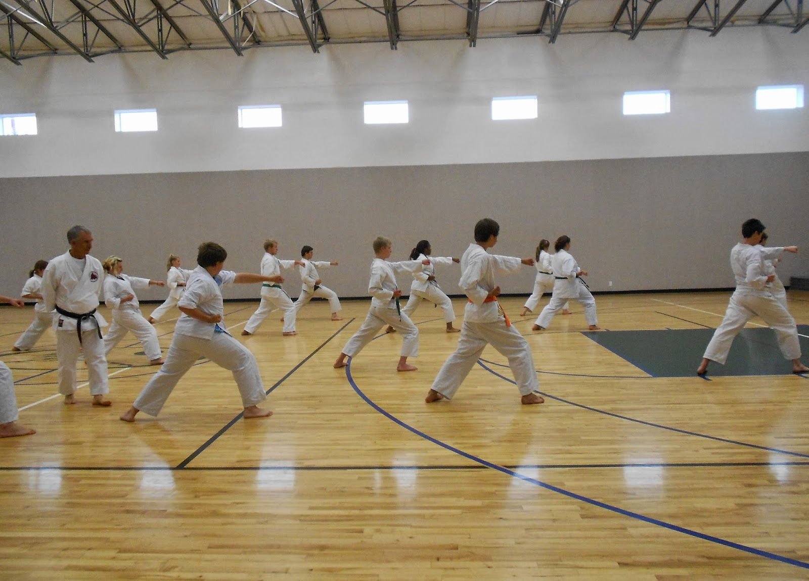Karate_students_international_private_therapeutic_boarding_school_Cedar_Ridge_Academy