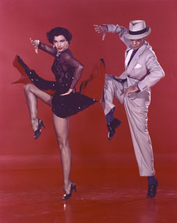 "Cyd Charisse and Fred Astaire in ""The Girl Hunt Ballet"" from Vincente Minnelli's musical The Band Wagon"