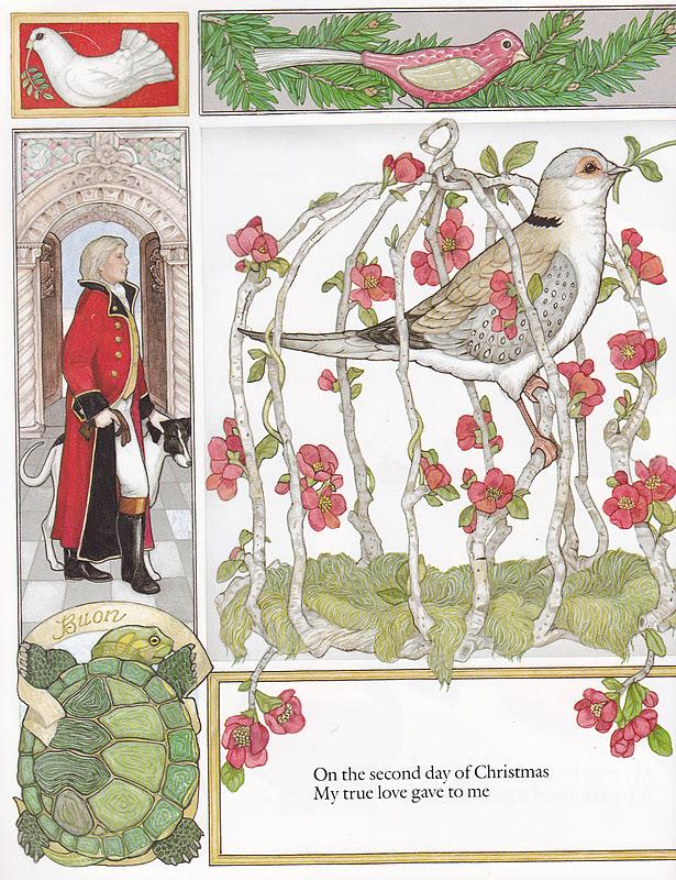 the marlowe bookshelf: Jan Brett\'s The 12 Days of Christmas