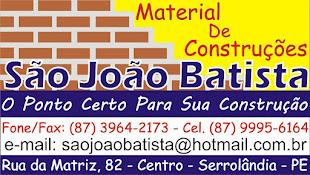 MATERIAL DE CONSTRUÇÕES