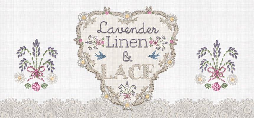 lavender linen and lace
