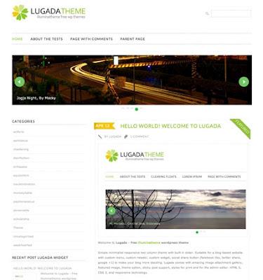 lugada wordpress theme