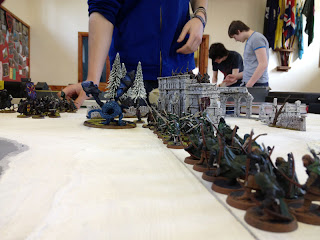 The Hobbit SBG Arnor battle line