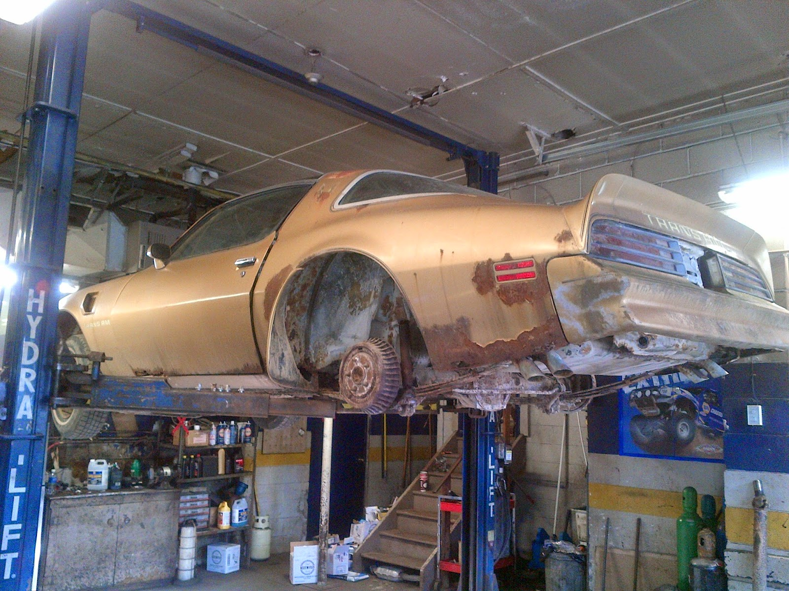 Car Crawler Series 1978 Trans Am Y88 W72 Phscollectorcarworld 1960 Pontiac Catalina Wiring Diagrams Once It Was On The Hoist We Could See Exactly What Mother Nature Had Done To Wasnt Pretty