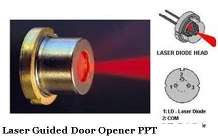 laser torch based voice transmitter and receiver project report pdf