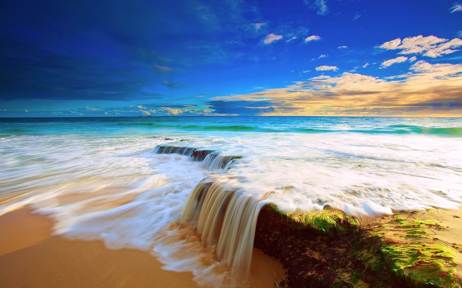 Blue Ocean BWalpaper HD