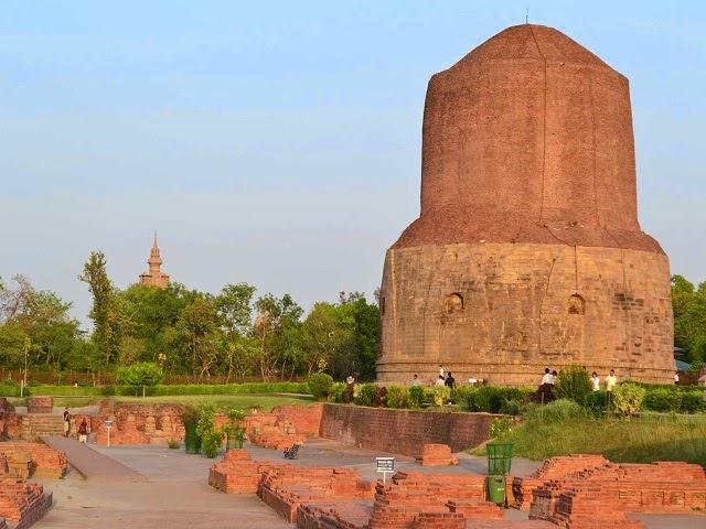 Dhamekha stupa,Sarnath