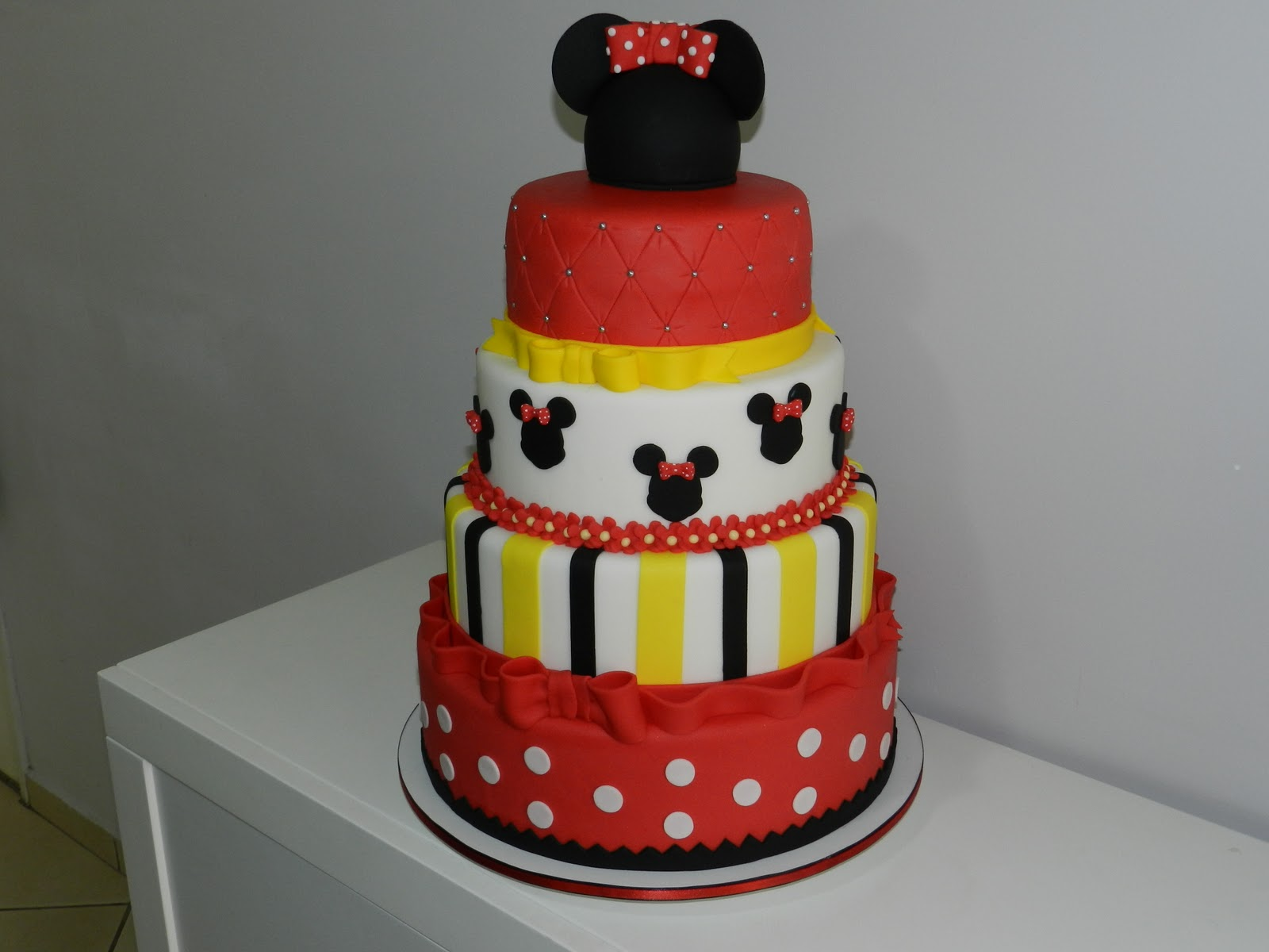Festa da Samantha Minnie Mouse