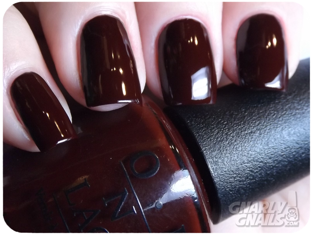 OPI Holiday 2013 Full Collection Review - Gnarly Gnails