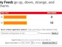 Feedburner: Cara mendaftar dan cara membuat feedburner