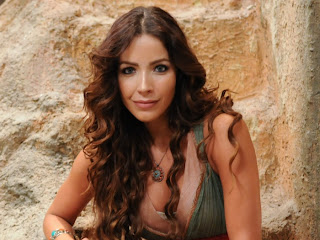 Renata Dominguez, que interpretou Bate-Seba na minissérie Rei Davi