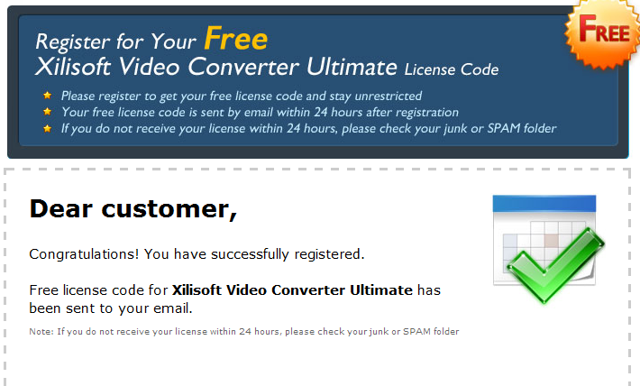 xilisoft video converter ultimate 6 license code free download
