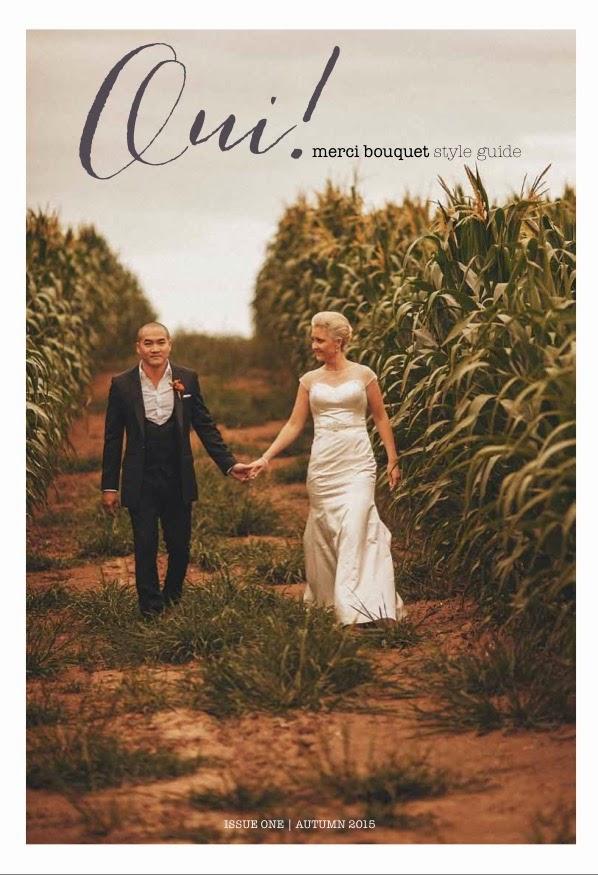 Oui! Merci Bouquet Autumn Wedding Style Guide 2015