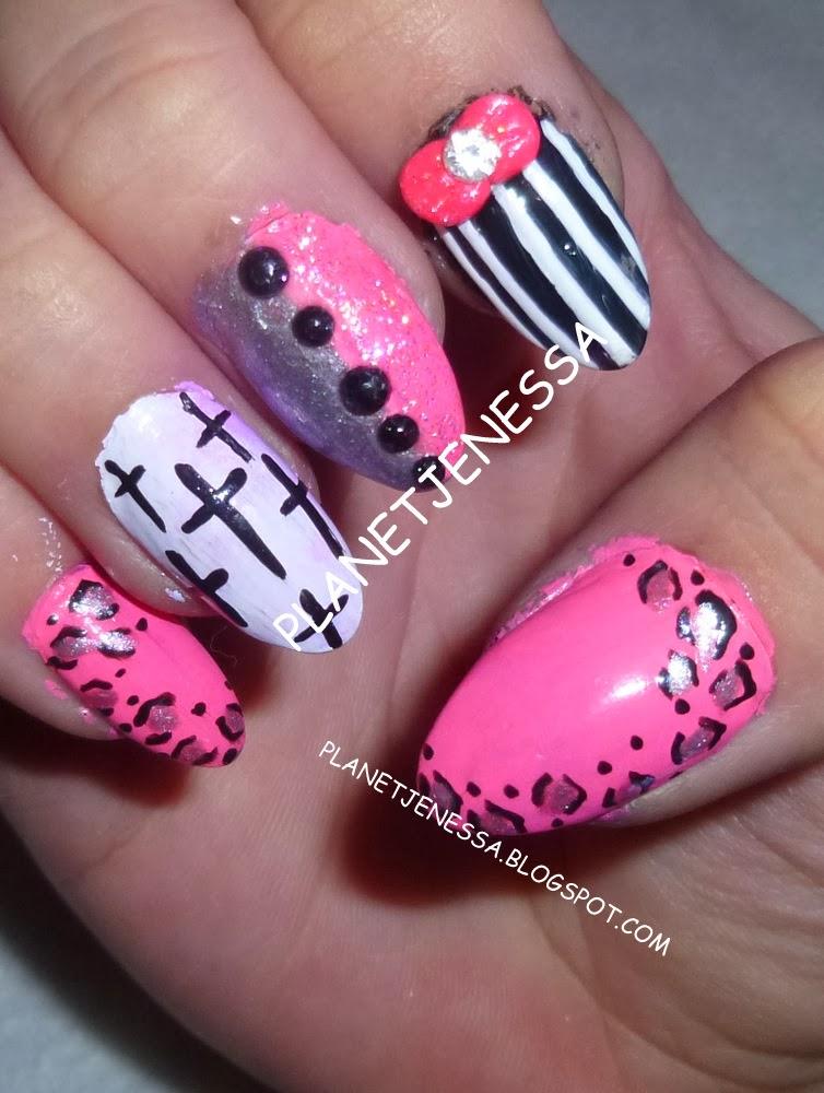 cross nail designs pccala