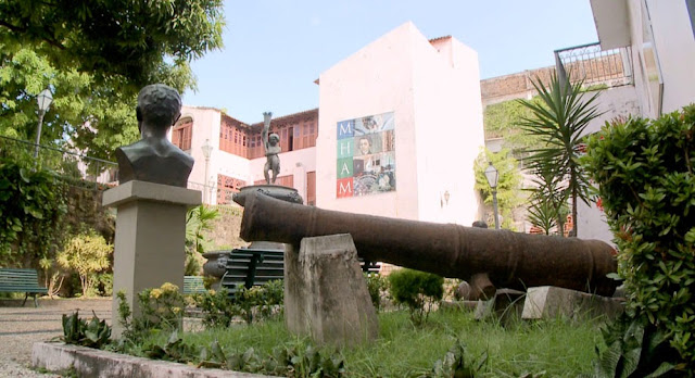 Museu Histórico e Artístico do Maranhão en Sao Luís, Brasil