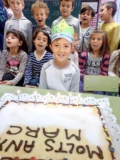 En Marc ja té 6 anys!!