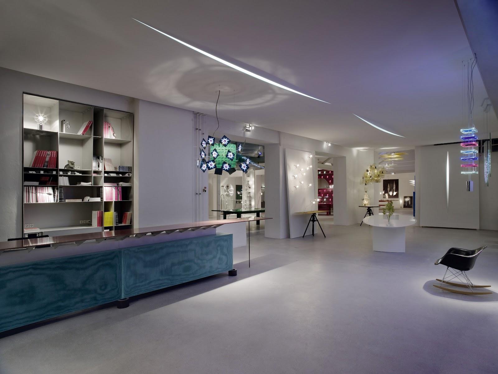 ingo maurer lighting showroom pictures with ingo maurer lamps. Black Bedroom Furniture Sets. Home Design Ideas