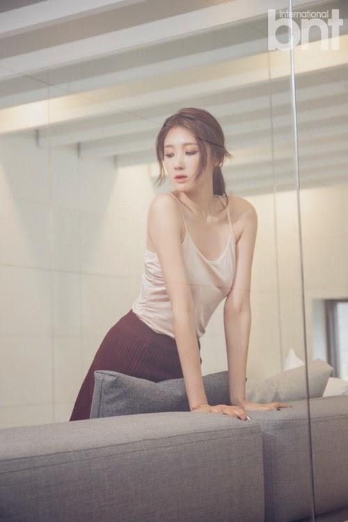 Hyuna Nine Muses - bnt International November 2014