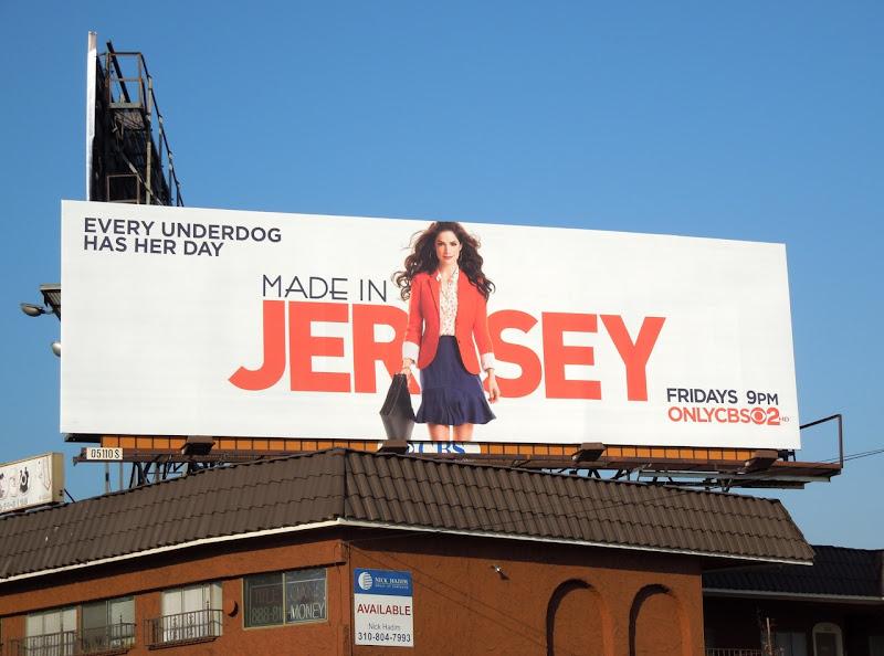 Made in Jersey season 1 billboard