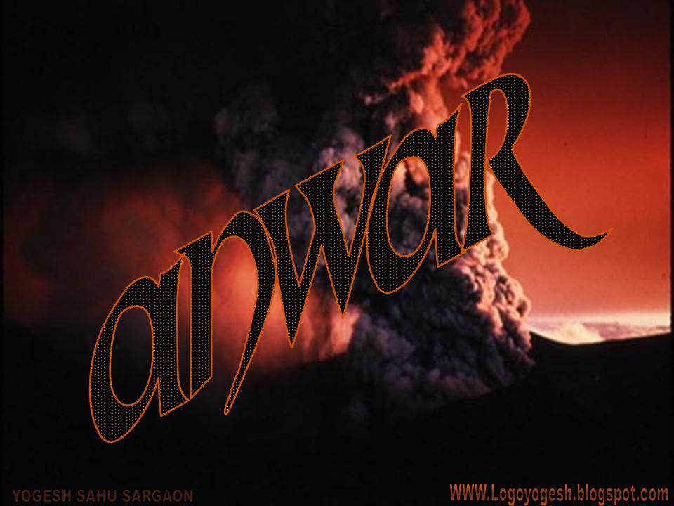 logo and name wallpaper anwar logo