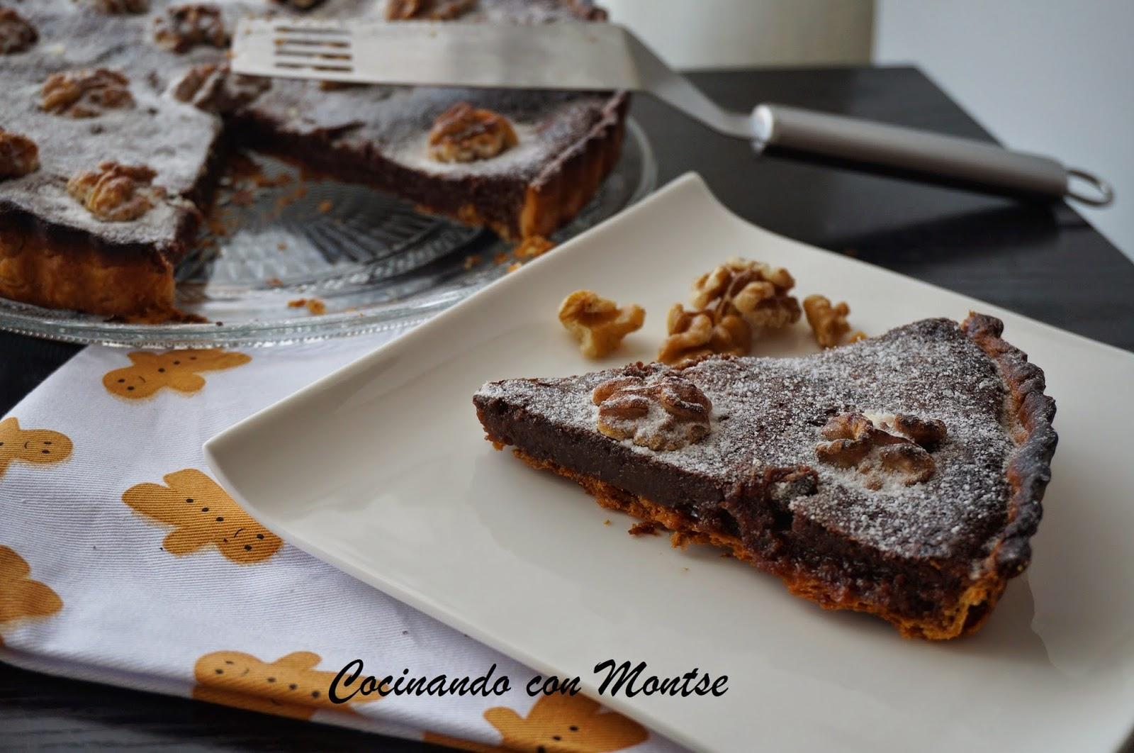 Tarta de Nutella y Sirope de Arce