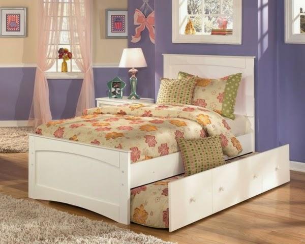 Dormitorios para niñas en colores pastel - Dormitorios ...