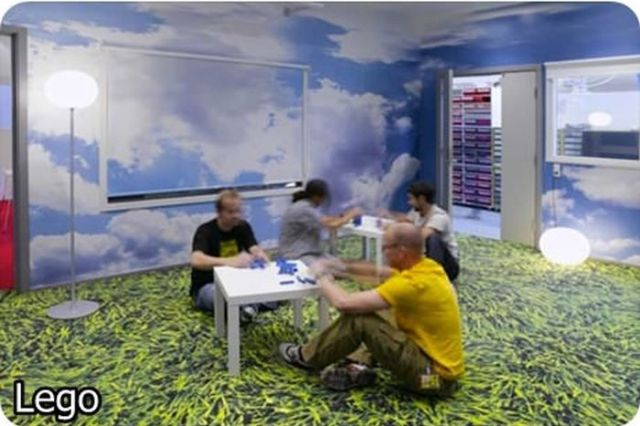 Amazing Offices of Popular Companies