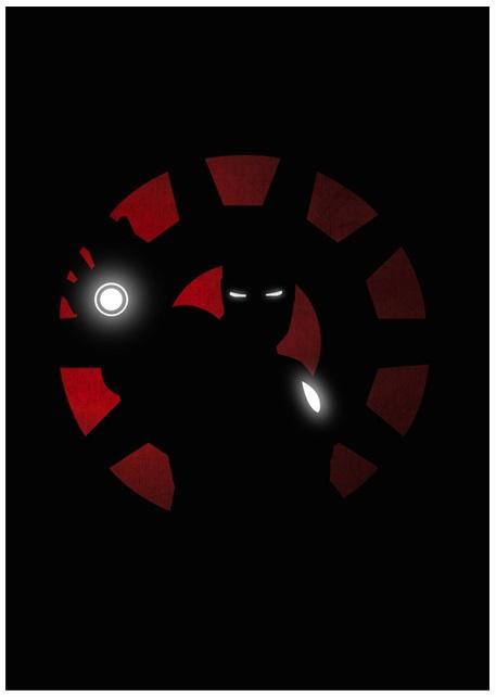 Lily's Factory ilustrações quadrinhos super heróis marvel dc sombras minimalistas Homem de Ferro