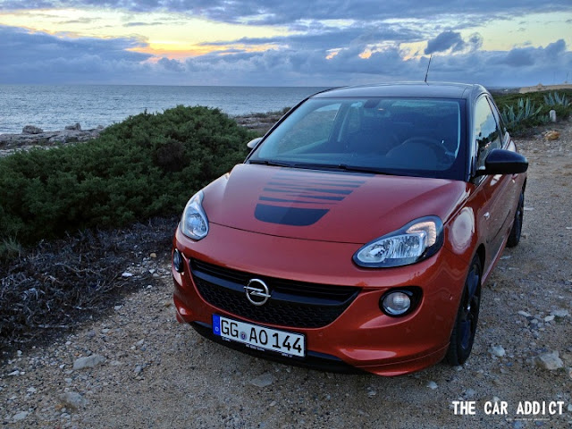 opel adam test drive review overview. Black Bedroom Furniture Sets. Home Design Ideas