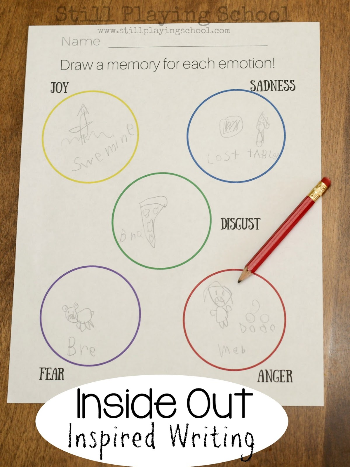 Ideas For Using Inside Out To Discuss Emotions With Kids Still