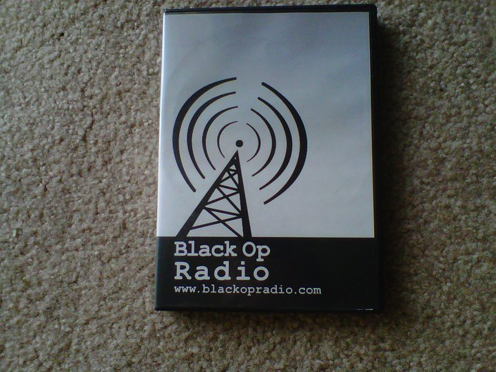My two appearances on Black Op Radio are on this 2-volume Audio DVD