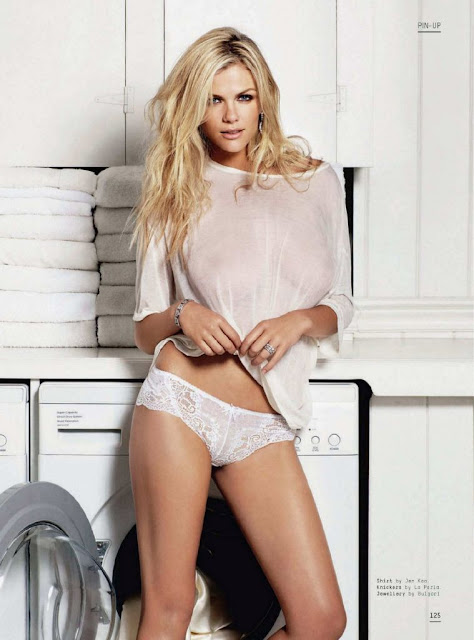 Brooklyn Decker 2011 Esquire UK Magazine Half Naked Photoshoot Pics