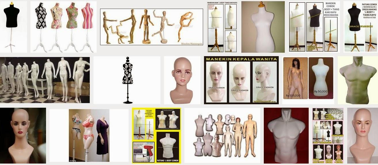 Grosir Manekin dan Perlengkapan Toko Pakaian