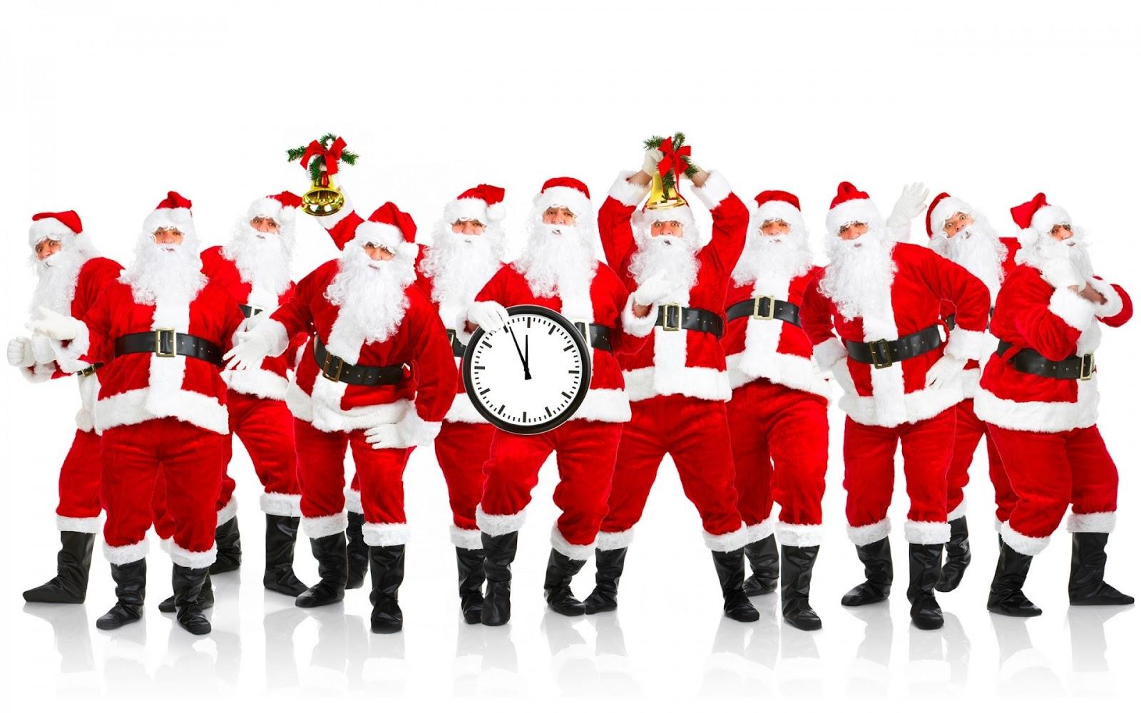 Christmas Cards 2012 High Resolution Cute Santa Claus