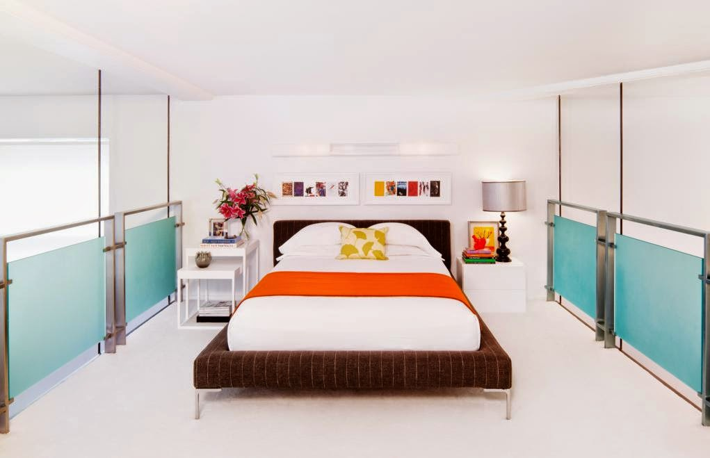 Blue Orange Bedroom Ideas