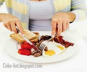 Menu makan pagi