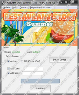 Restaurant Story Summer Hack Cheat Tool v1.04 Android & iOS