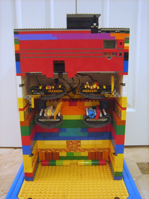Lego Candy Vending Machine Adorable Money Taking Lego Candy